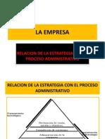 Relacion de La Estrategia Con El Proceso Administrativo