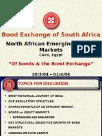 SA Bond Exchange (Lawless) Pres