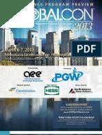 2013 GLOBALCON Conference & Expo Brochure