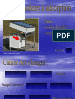 Le frigo à adsorption solaire