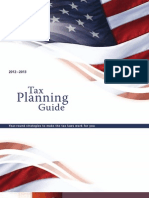 2012-2013 Tax Planning Guide
