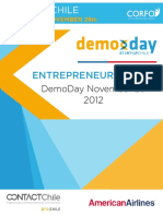 Start-Up Chile Demo Day Brochure