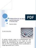 Farmacéuticos en agua potable.