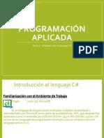Programación Aplicada - Tema 1