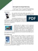 En Navidad regala tecnología Samsung