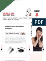 Smoky Eyes Nero Tutorial Trucco Passo Passo _ Il Mio Make Up _ Il Blog Italiano Sul Trucco e La Cosmesi