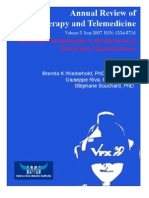 Annual Review of CyberTherapy and Telemedicine, Volume 5, Summer 2007