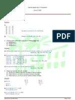 Soluciones de actividades de Recuperación 1ª Evaluación (2º ESO)