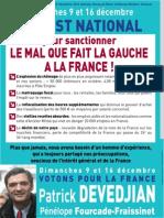 Un test national pour sanctionner le mal que fait la gauche à la France