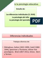 Paradigmas y componentes en psicología educativa