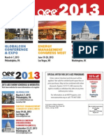 2013 AEE Energy Conferences and Expos