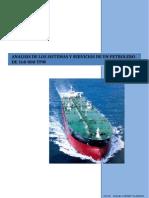Analisis de Los Sistemas y Servicios de Un Buque Petrolero de 160000 Tpm