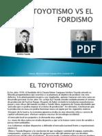 El Toyotismo vs El Fordismo
