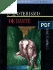René Guénon - O Esoterismo de Dante (Vega, 1995)