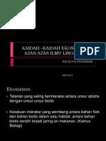 3. Kaidah & azas
