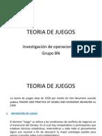 Teoria de Juegos (1)