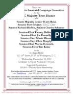 DSCC Majority Trust Dinner for Democratic Senatorial Campaign Committee