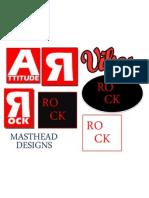 masthead designs