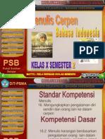 Bahan Ajar Bahasa Indonesia Kelas x Semester 2 Kd 16.2