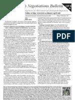 Earth Negotiations Bulletin – Doha Climate Change Conference, 29 November, 2012