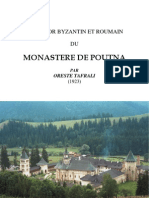 Oreste Tafrali - Monastere de Poutna (1923)
