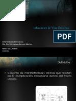 Infección vías urinarias.