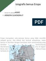 Kondisi Fisiografis Benua Eropa