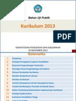 Bahan Uji Publik Kurikulum 2013