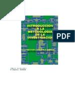 Introduccion a La Metodologia de La Investigacion Avila Baray