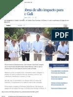 28-11-12 e-consulta - Se impulsan obras de alto impacto para todo el estado:Gali