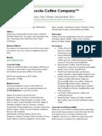 Let's Merry Organizational Fact Sheet