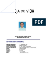 Hoja de Vida Johan Rueda Hugo