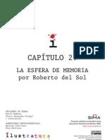 02 La Esfera de Memoria. Roberto Del Sol. Ilustratura