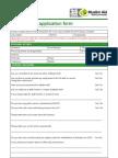 Pro Ma Application Form