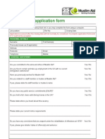 Pro Ma Application Form