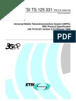 RRC Protocol specifiction