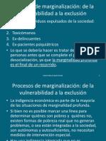 Clase 11-Procesos de marginación