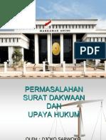 Dakwaan Dan Upaya Hukum 1