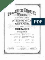 Frederick Chopin's Works - Volume 4 - Polonaises