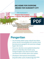 Semarang Home for Everyone Humanist Brand for Humanity City