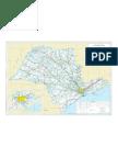 Sao Paulo - Mapa Rodoviário Completo