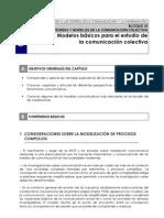 9. Modelos básicos para el estudio de la comunicación colectiva