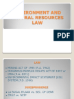 Environment and Natural Resources Law