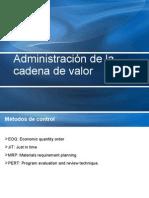 Admin is Trac Ion de La Cadena de Valor