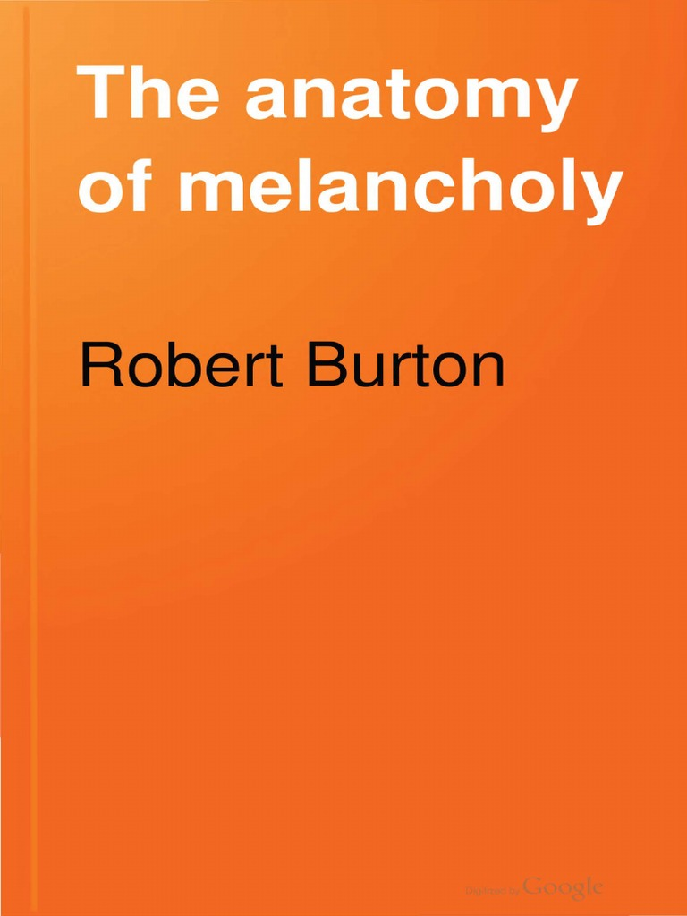 The Anatomy of Melancholy   Toleration   Religion And Belief e19c3c0612