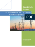 Dossier de Prensa Reglamento SEIA y Consulta. Chile 2012