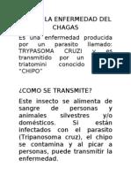 Que Es La Enfermedad Del Chagas