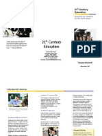 Brochure on 21st Century Teaching
