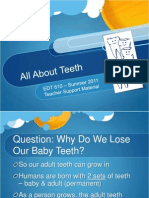 Animal Teeth vs. Human Teeth PPT (Teacher Version)