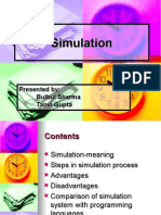 Simulation Ppt | Simulation | Conceptual Model
